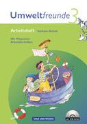 Umweltfreunde 3. Schuljahr. Neubearbeitung 2009. Arbeitsheft mit CD-ROM. Sachsen-Anhalt
