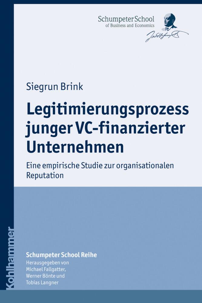 Legitimierungsprozess junger VC-finanzierter Un...