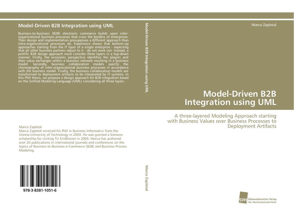 Model-Driven B2B Integration using UML als Buch...