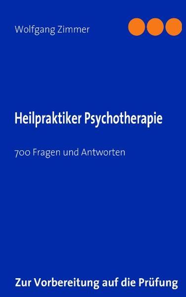Heilpraktiker Psychotherapie als Buch von Wolfg...