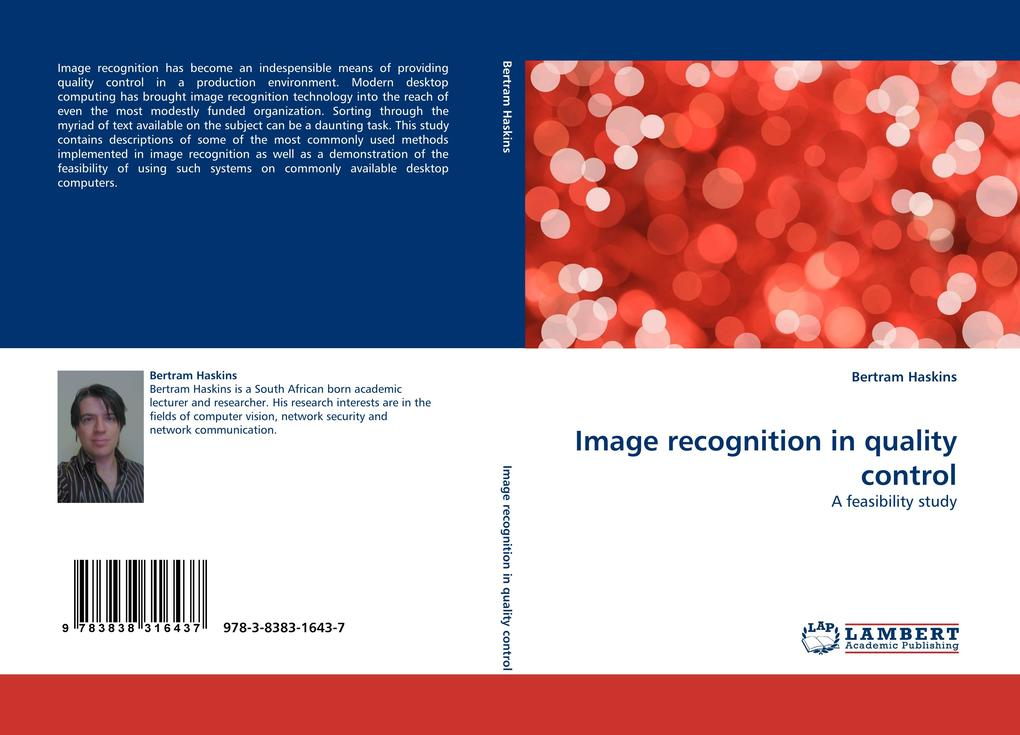 Image recognition in quality control als Buch v...