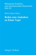 Reden zum Andenken an Klaus Vogel