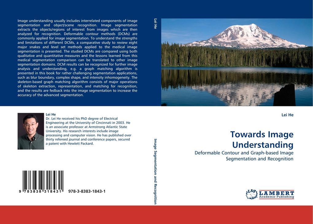 Towards Image Understanding als Buch von Lei He