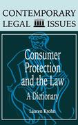 Consumer Protection and the Law: A Dictionary