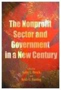 The Nonprofit Sector and Government in a New Century