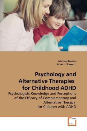 Psychology and Alternative Therapies for Childh...