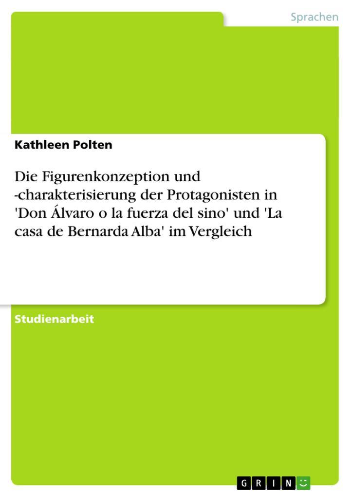 Die Figurenkonzeption und -charakterisierung de...
