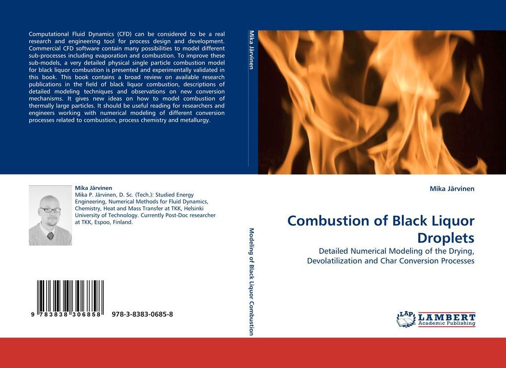 Combustion of Black Liquor Droplets als Buch vo...