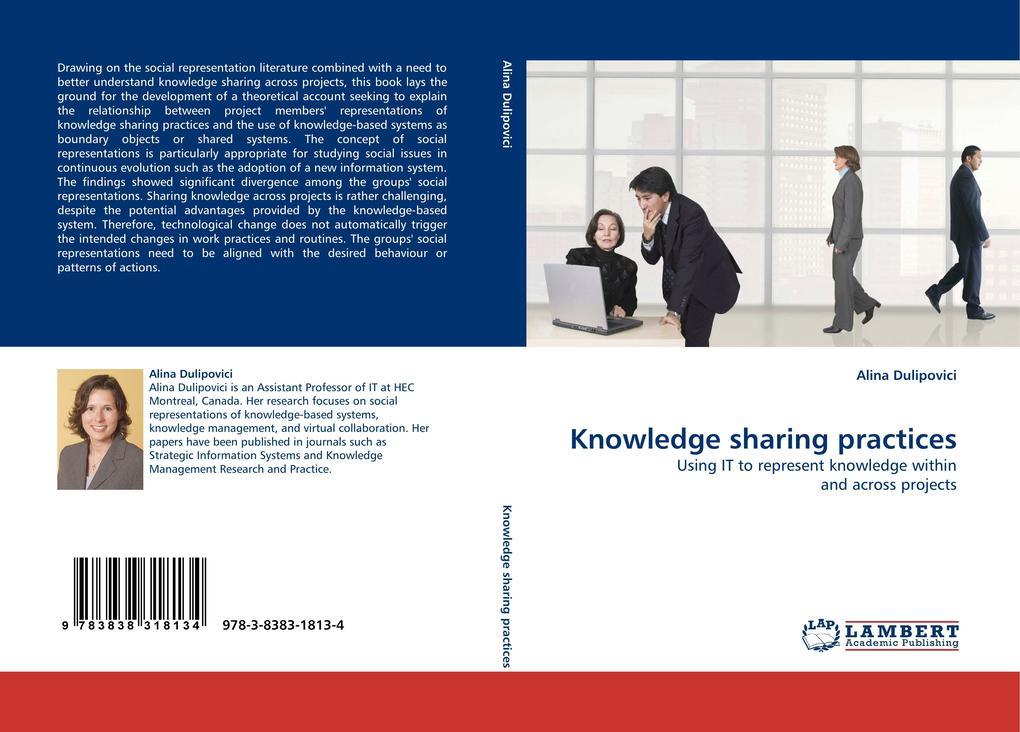 Knowledge sharing practices als Buch von Alina ...