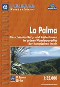 Hikeline Wanderführer Wanderatlas La Palma 1 : 35 000