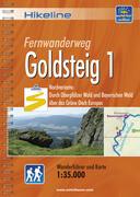 Hikeline Wanderführer Fernwanderweg Goldsteig 1