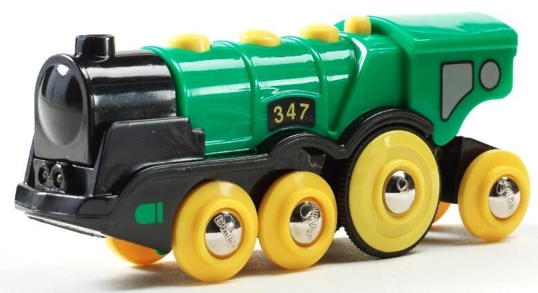 BRIO Bahn - Grüner Gustav