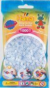 Hama - Beutel mit Perlen, 1000 Stück, nachtleuchtend, blau