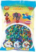 Hama - Bügelperlen im Beutel, ca 3000 Stck, Glittermix