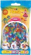 Hama - Bügelperlen im Beutel, ca 1000 Stck, Glittermix