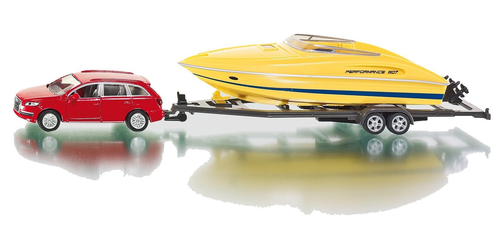 SIKU Super - PKW mit Motorboot