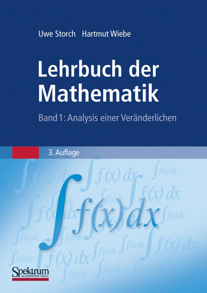 Lehrbuch der Mathematik. Band 1 als Buch