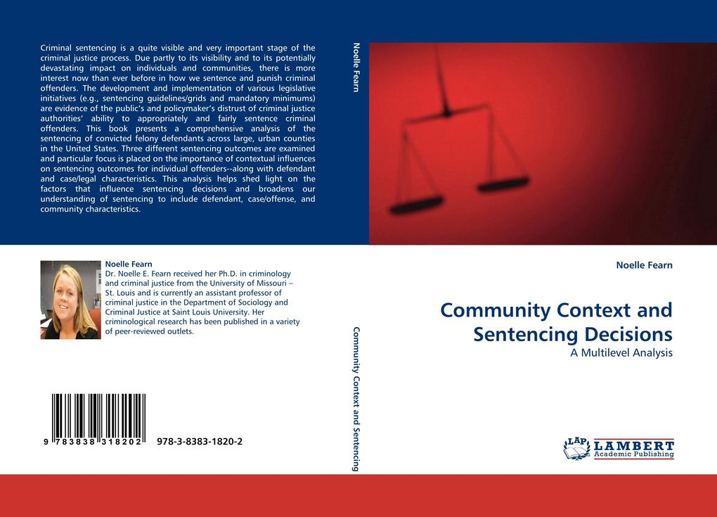 Community Context and Sentencing Decisions als ...