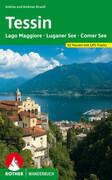 Tessin mit Lago Maggiore, Luganer See und Comer See