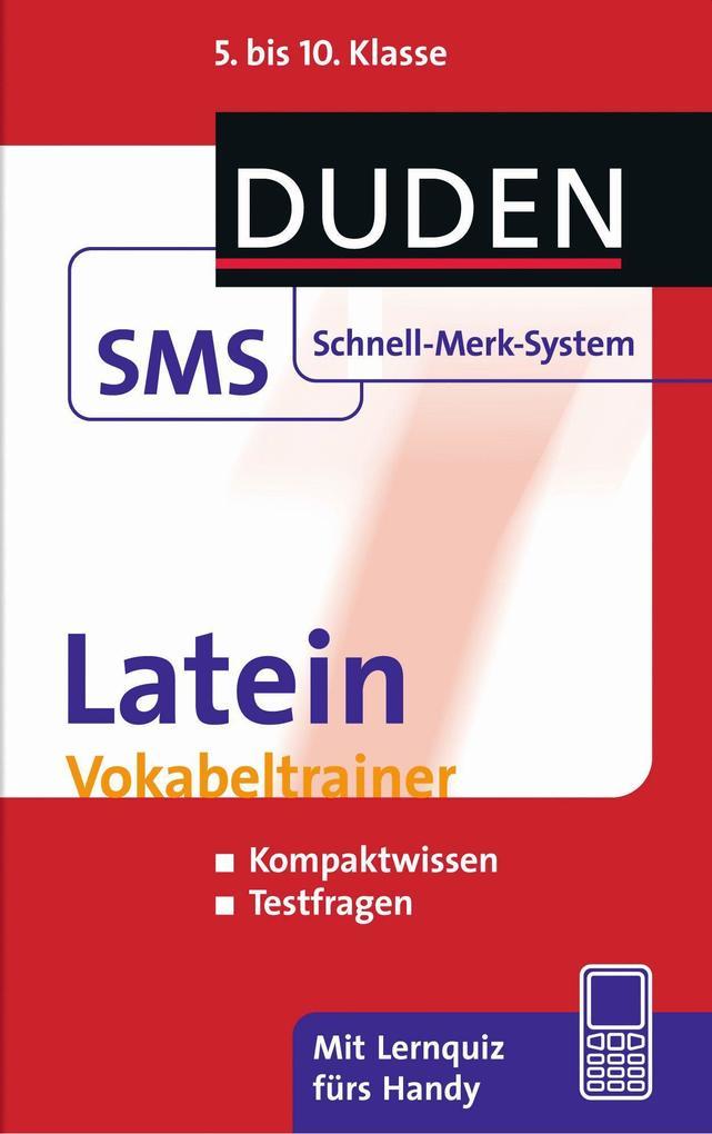 Latein Vokabeltrainer als Buch von Monika Borne...