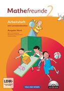 Mathefreunde 2. Schuljahr. Nord. Arbeitsheft mit Lernstandsseiten. Berlin, Brandenburg, Mecklenburg-Vorpommern, Sachsen-Anhalt