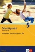 Schnittpunkt Mathematik 5. Schuljahr. Arbeitsheft plus Lösungsheft mit Lernsoftware. Ausgabe für Thüringen