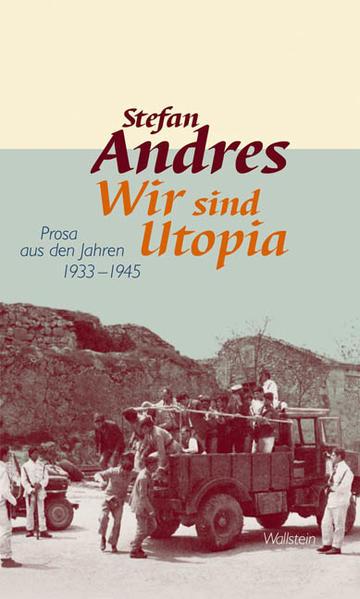 Werke in Einzelausgaben 04. Wir sind Utopia als Buch