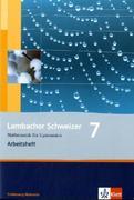 Lambacher Schweizer. 7. Schuljahr. Arbeitsheft mit Lösungsheft. Schleswig-Holstein