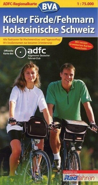 ADFC-Regionalkarte Kieler Förde / Fehmarn / Hol...