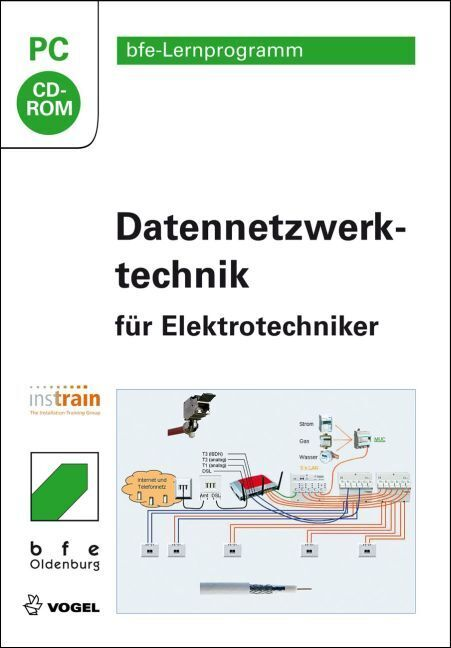 Datennetzwerktechnik für Elektrotechniker, CD-ROM