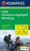 Fulda - Hessisches Kegelspiel - Milseburg 1 : 50 000