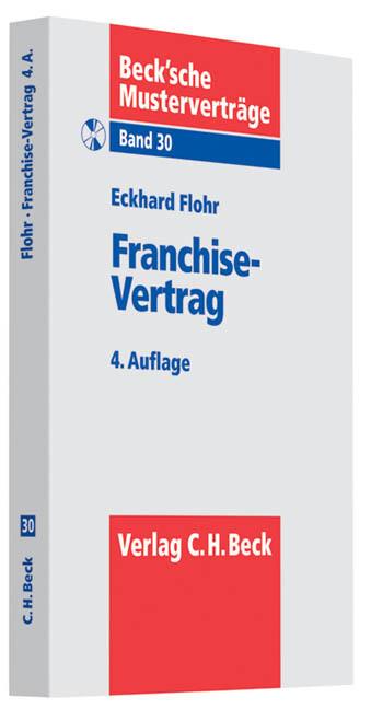 Franchise-Vertrag als Buch von Eckhard Flohr, C...