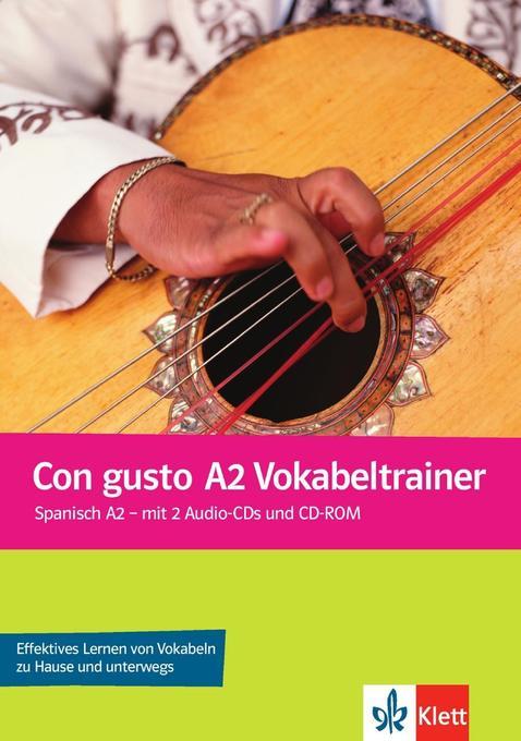 Con gusto. Vokabeltrainer - A2 als Buch von