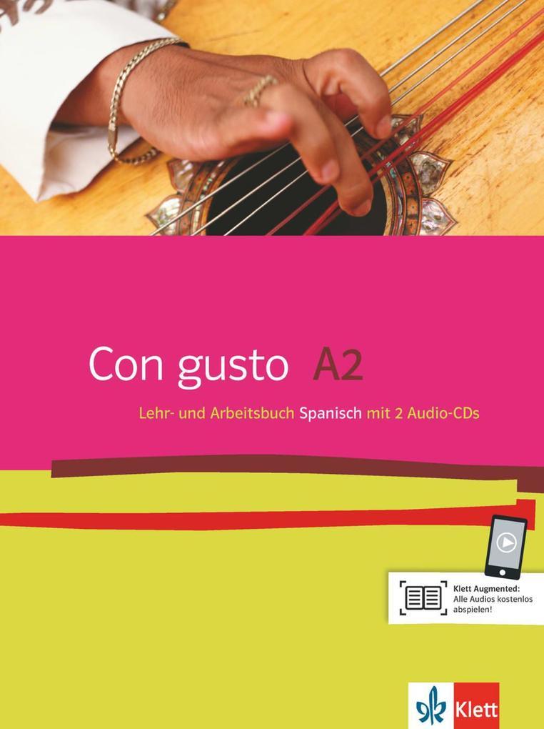 Con gusto. Lehr- und Arbeitsbuch mit 2 Audio-CDs - A2 als Buch