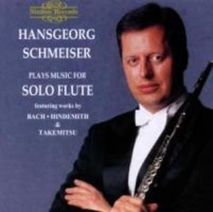 Schmeiser Plays Solo Flute Works