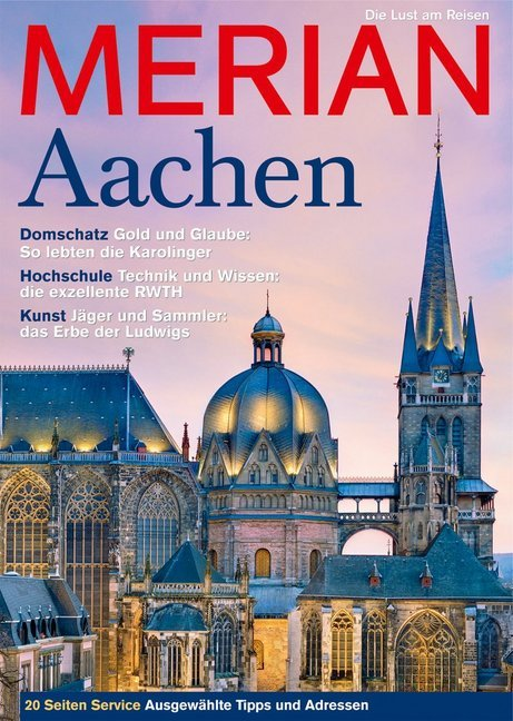 MERIAN Aachen als Buch von