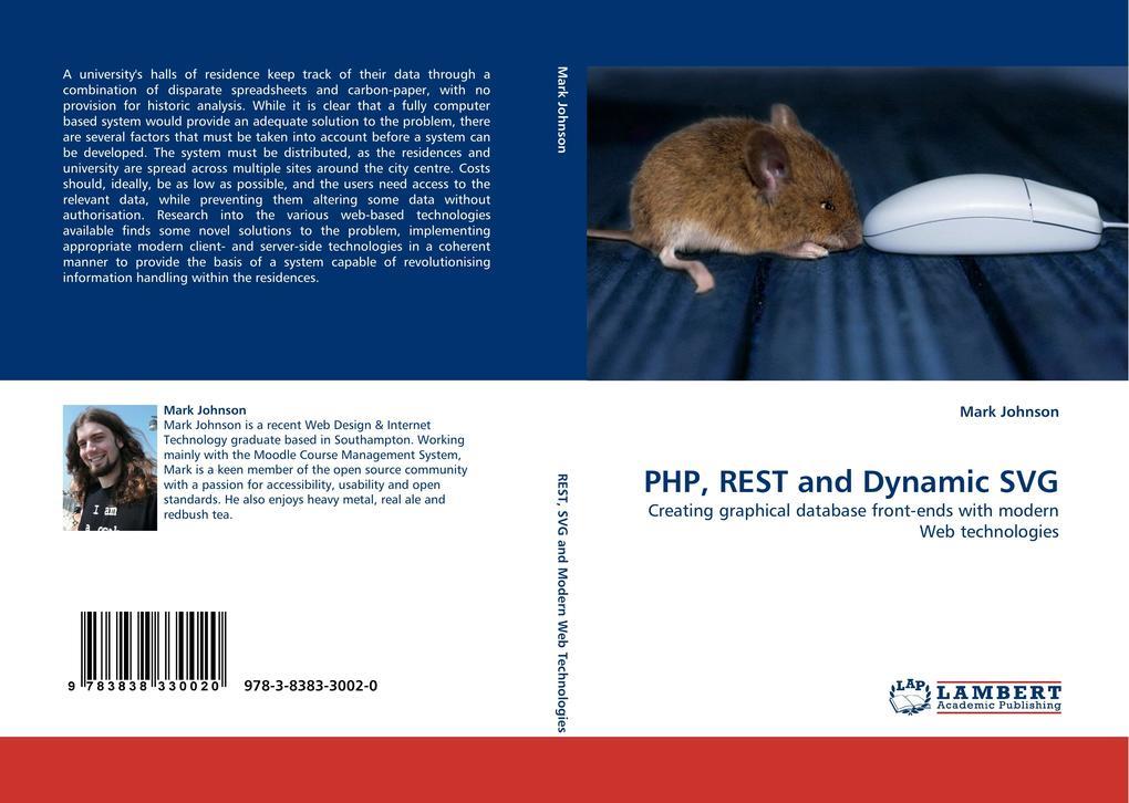 PHP, REST and Dynamic SVG als Buch von Mark Joh...