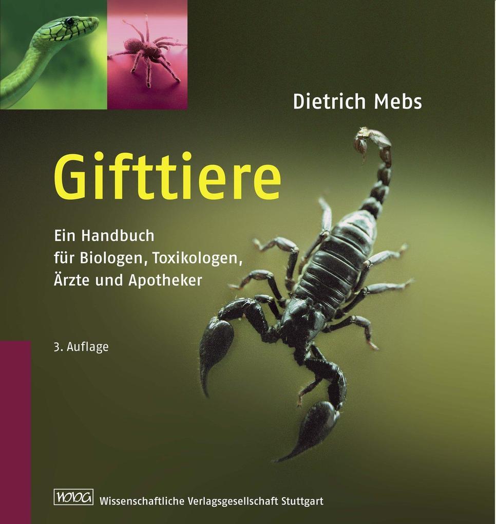 Gifttiere als Buch