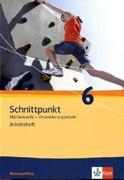 Schnittpunkt Mathematik - Ausgabe für Rheinland-Pfalz. Neubearbeitung. Arbeitsheft Orientierungsstufe plus Lösungsheft 6. Schuljahr
