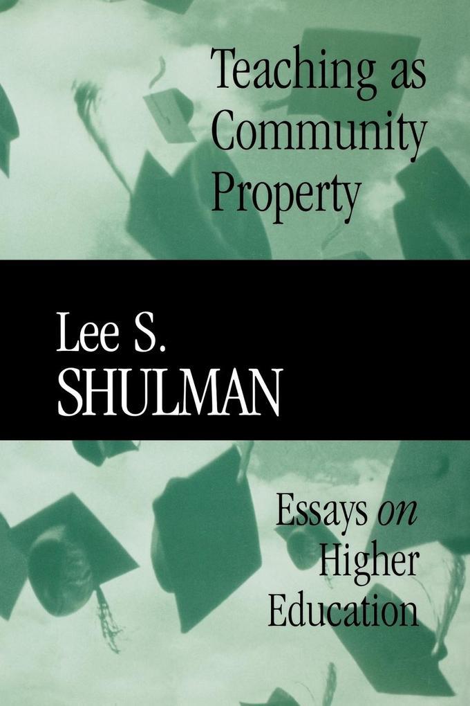 Teaching as Community Property als Taschenbuch ...