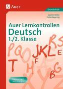 Auer Lernkontrollen Deutsch 1./2. Klasse
