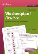 Wochenplan Deutsch, Sprachförderung/Lesen 1-2