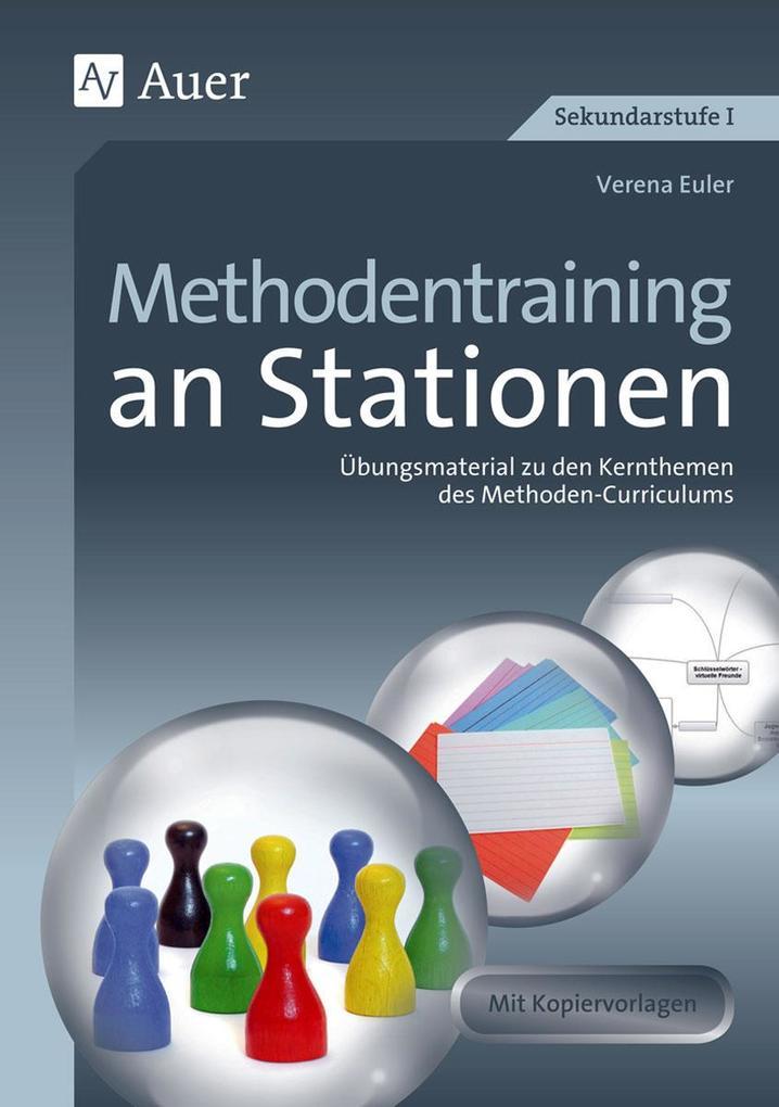 Methodentraining an Stationen als Buch