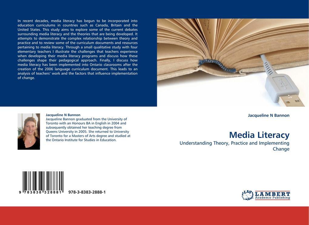 Media Literacy als Buch von Jacqueline N Bannon