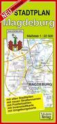 Stadtplan Magdeburg 1 : 22 500