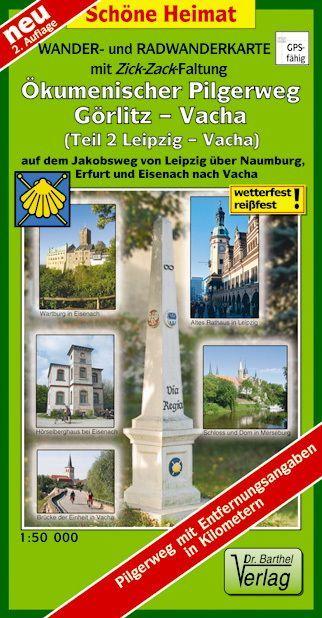 Wander- und Radwanderkarte Ökumenischer Pilgerw...