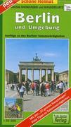 Berlin und Umgebung 1 : 35 000. Große Radwander- und Wanderkar