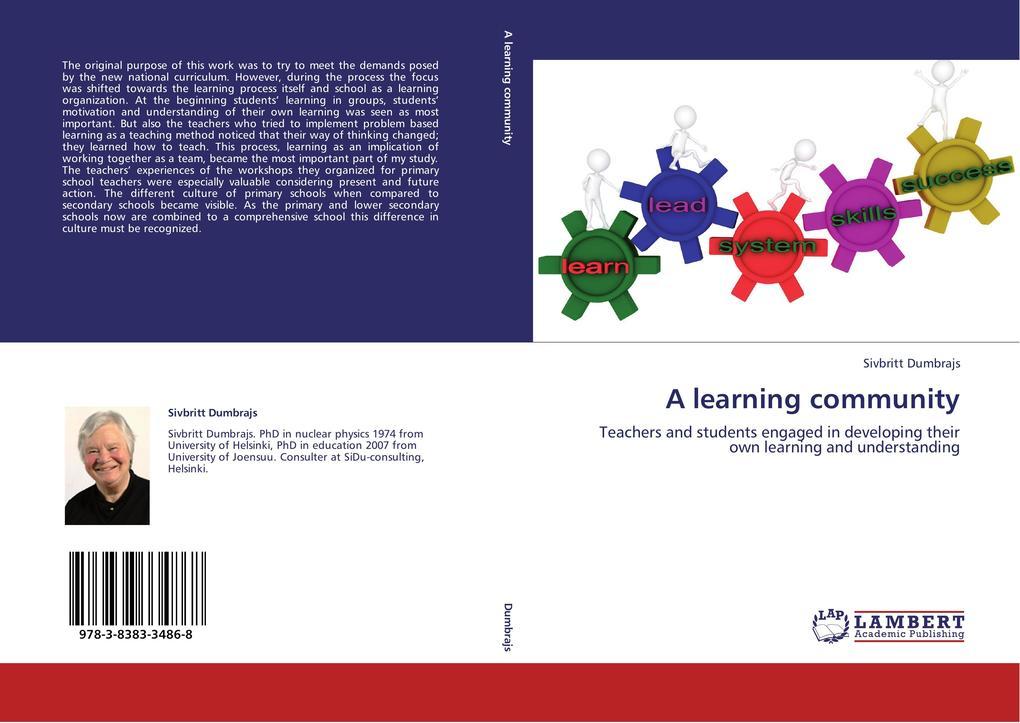 A learning community als Buch von Sivbritt Dumb...