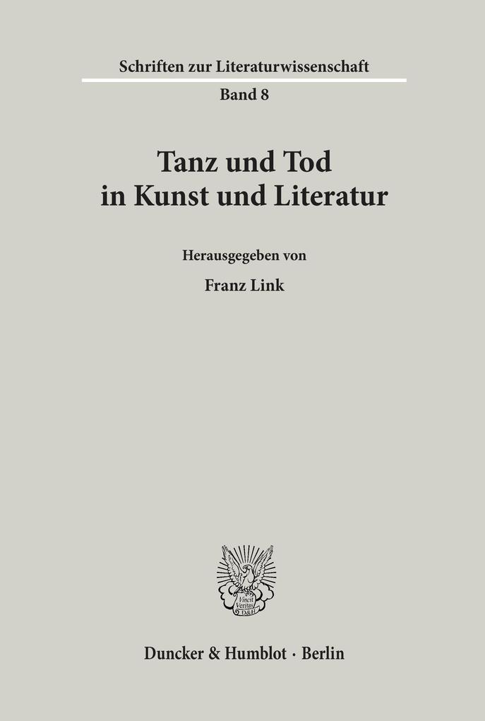 Tanz und Tod in Kunst und Literatur als Buch von