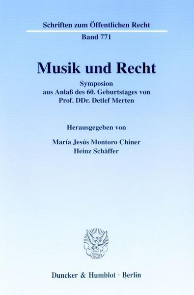 Musik und Recht als Buch von